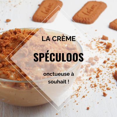 Crème spéculoos