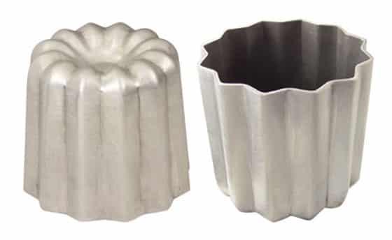 Cannelé moule aluminium