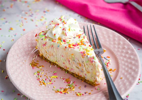 Cheesecake funfetti