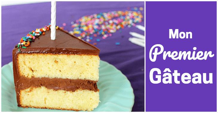 Premier gâteau