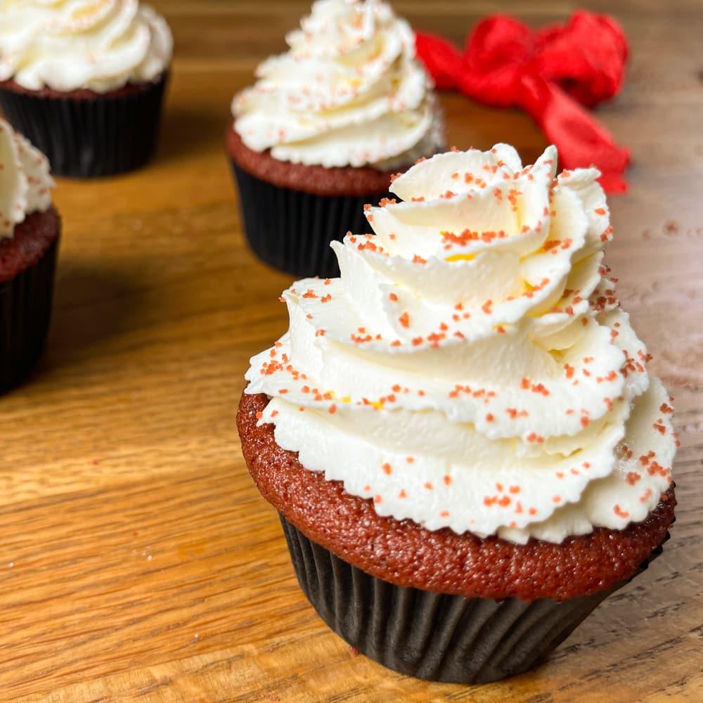 Cupcake red velvet 1