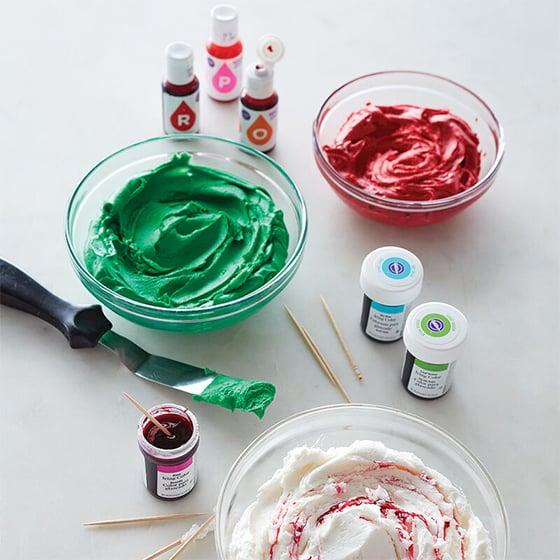 Colorant alimentaire en gel