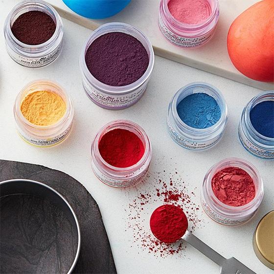 Colorant alimentaire en poudre