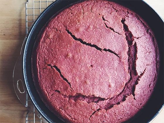 Gâteau raté craquelure