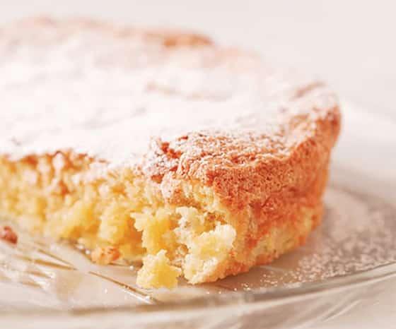 Gâteau raté granuleux