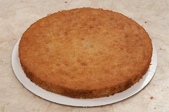 Gâteau raté plat