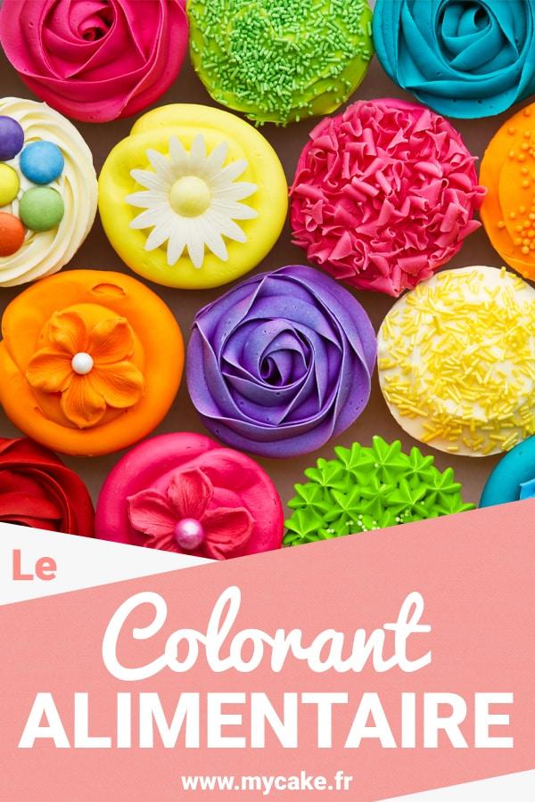 Colorant alimentaire Pinterest