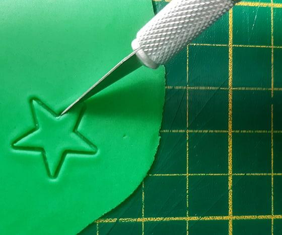 Modeler une citrouille - étoile au cuter