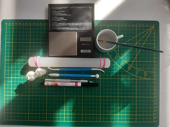 Modeler une citrouille - matériel