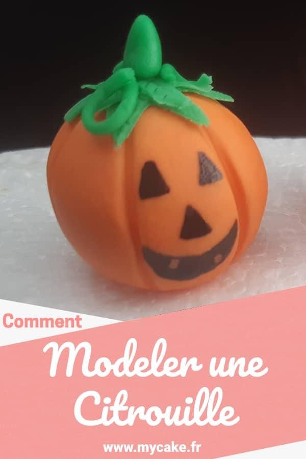 Modeler une citrouille pinterest