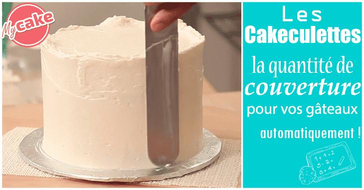 Les Cakeculettes, tous vos calculs pour le Cake Design automatiquement ! 4