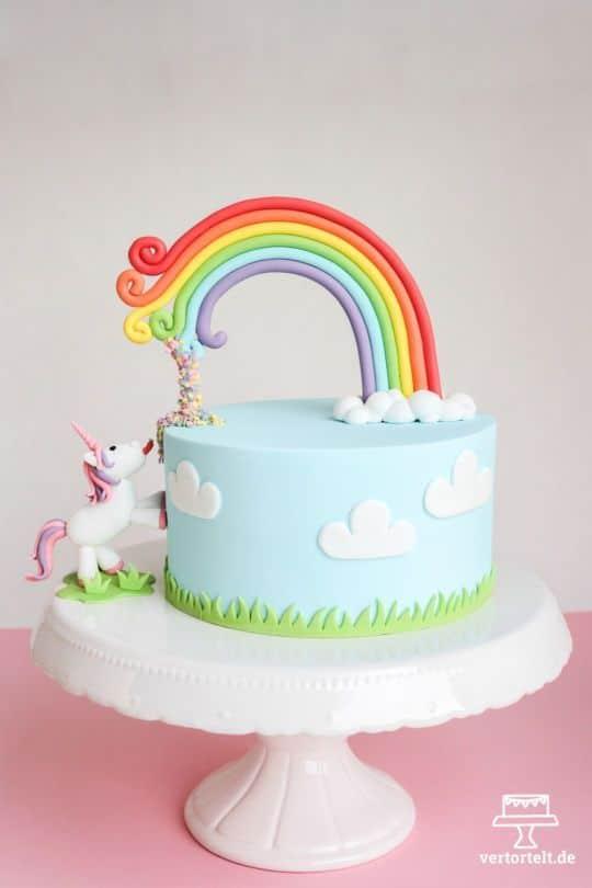 Rainbow Cake, le gâteau arc en ciel remplie d'une multitude de couleurs ! 10