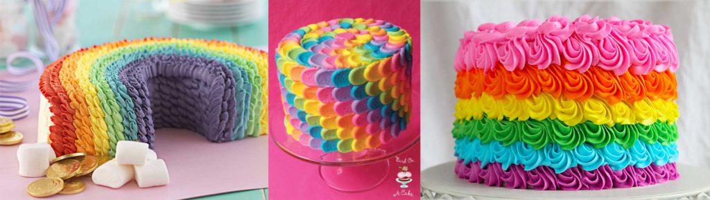 Rainbow Cake, le gâteau arc en ciel remplie d'une multitude de couleurs ! 6
