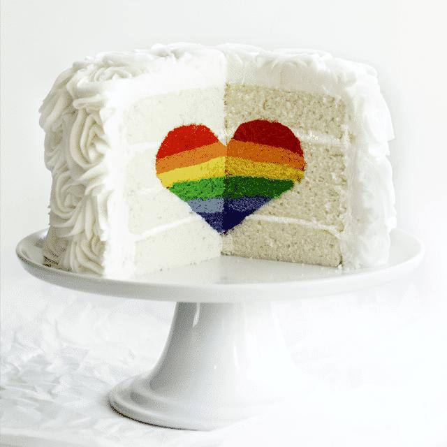 Rainbow Cake, le gâteau arc en ciel remplie d'une multitude de couleurs ! 14