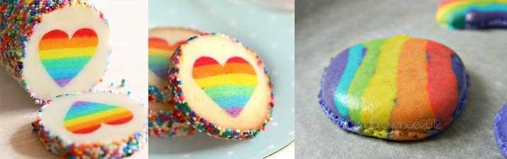 Rainbow Cake, le gâteau arc en ciel remplie d'une multitude de couleurs ! 18