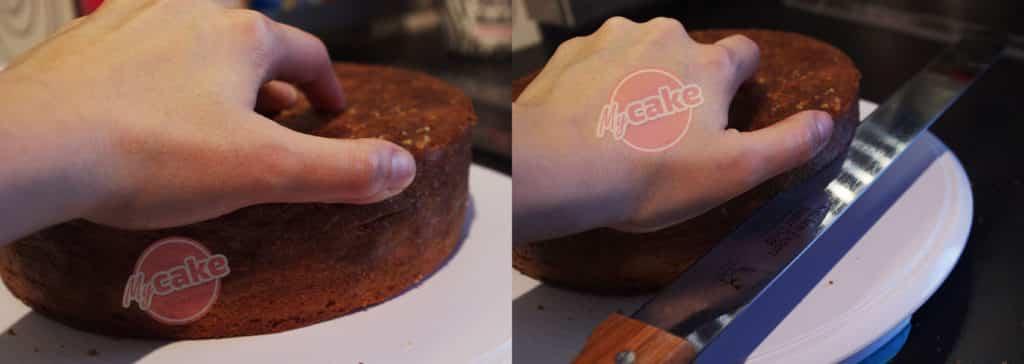 Le montage de gâteau à l'envers, une couverture toujours réussie ! 7