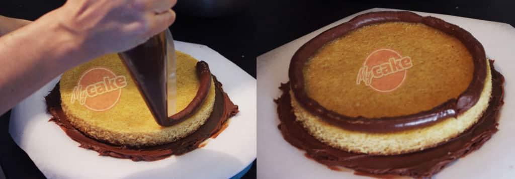 Le montage de gâteau à l'envers, une couverture toujours réussie ! 14