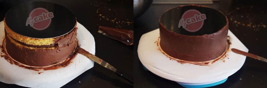 Le montage de gâteau à l'envers, une couverture toujours réussie ! 20