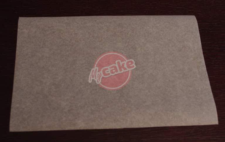 Comment réaliser facilement un cornet de pâtisserie en papier sulfurisé pour décorer et écrire 3