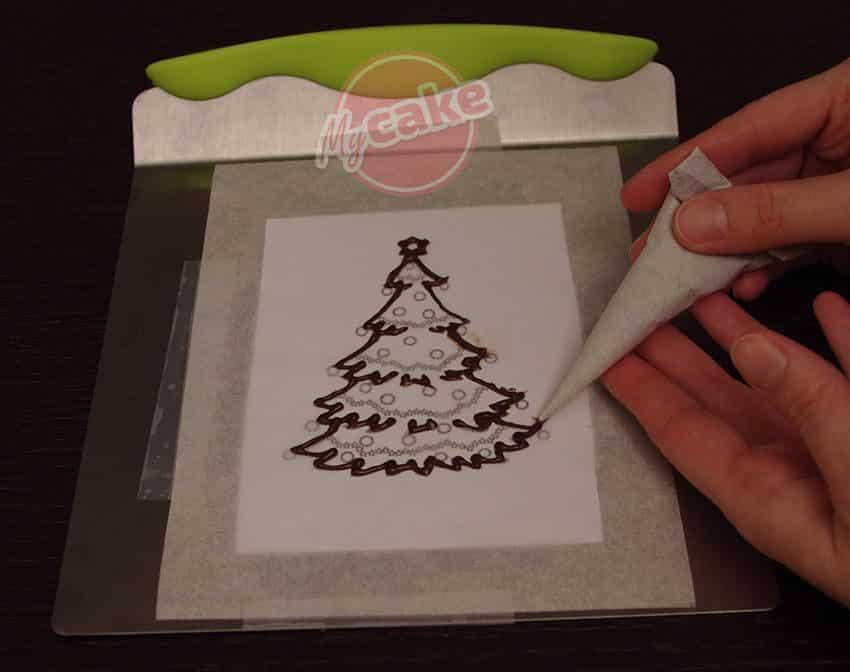 Le Transfert de dessin en Chocolat, un rendu Top facilement ! 14
