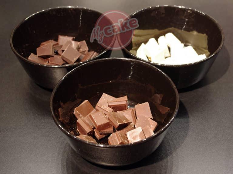 Entremet 3 chocolats, un dessert léger mais gourmand ! 25