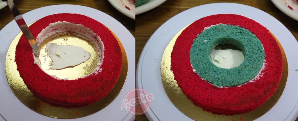 Le Gâteau Damier, pour un effet Wahou facilement ! ;-) 10