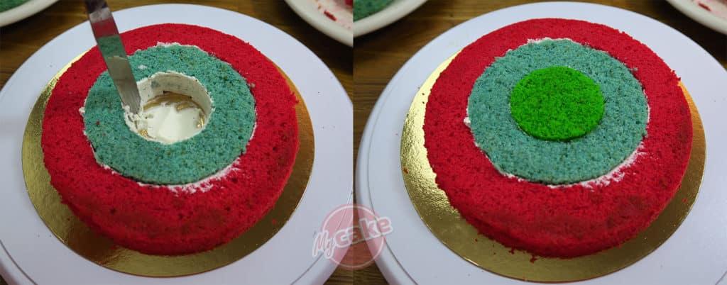 Le Gâteau Damier, pour un effet Wahou facilement ! ;-) 11