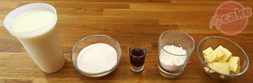 La Crème Pâtissière sans oeuf pour Cake Design 9